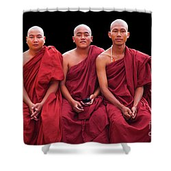 Burma_d1610 Shower Curtain by Craig Lovell