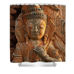 Burma_d187 Shower Curtain by Craig Lovell