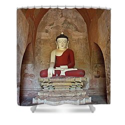 Burma_d2078 Shower Curtain by Craig Lovell
