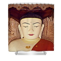 Burma_d2085 Shower Curtain by Craig Lovell