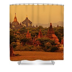 Burma_d2136 Shower Curtain by Craig Lovell
