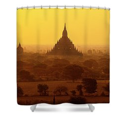 Burma_d2227 Shower Curtain by Craig Lovell