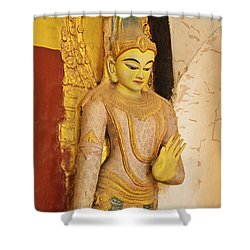 Burma_d2257 Shower Curtain by Craig Lovell