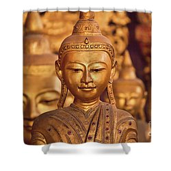 Burma_d579 Shower Curtain by Craig Lovell