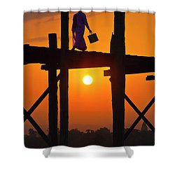 Burma_d807 Shower Curtain by Craig Lovell