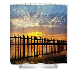 Burma_d819 Shower Curtain by Craig Lovell