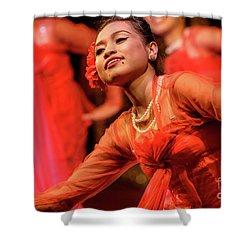 Burmese Dance 1 Shower Curtain by Werner Padarin