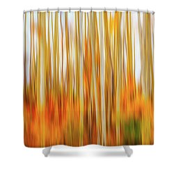 Burn In Me Shower Curtain