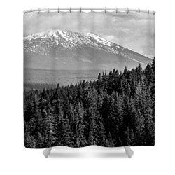 Burney Mountain Shower Curtain