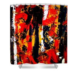 Burning Bright Shower Curtain