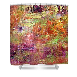 Burning Fire #2 Shower Curtain