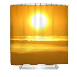 Burning Soul Shower Curtain