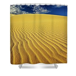 Burning Up At The White Sand Dunes - Mui Ne, Vietnam, Southeast Asia Shower Curtain by Sam Antonio Photography
