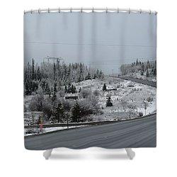 Burns Lake Bc Shower Curtain