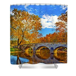 Burnside Bridge At Antietam Shower Curtain