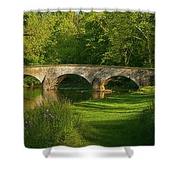 Burnside Bridge Shower Curtain
