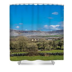 Burren Panorama Shower Curtain