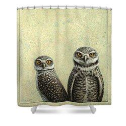 Burrowing Owls Shower Curtain