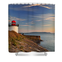 Burry Port 1 Shower Curtain