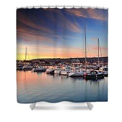 Burry Port 2 Shower Curtain