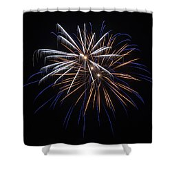 Shower Curtain featuring the photograph Burst Of Elegance by Bill Pevlor