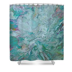 Burst Shower Curtain