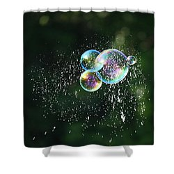 Bursting In Air Shower Curtain