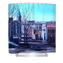 Bursting Into Spring Shower Curtain