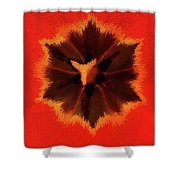 Shower Curtain featuring the photograph Bursting by Terri Harper