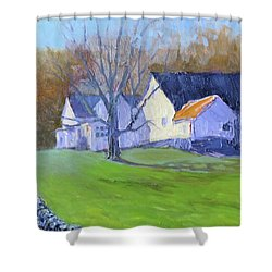 Burton Farm Shower Curtain