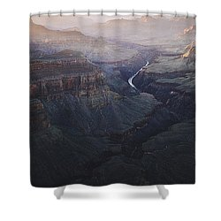 Bury Me At The Heart Of The River Shower Curtain