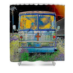 Bus To Chattanooga Shower Curtain by Julie Niemela