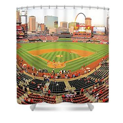 Busch Before The Game Shower Curtain