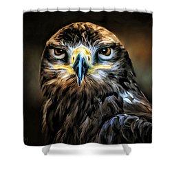 Buse - Portrait Shower Curtain