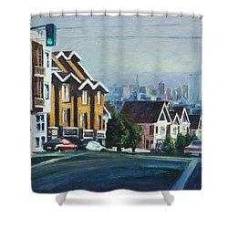 Bush Street Shower Curtain