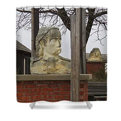 Busts In Frontier City Shower Curtain