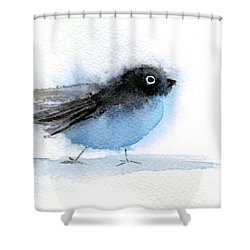 Busy Bird Shower Curtain