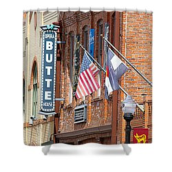 Butte Opera House In Colorado Shower Curtain