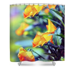 Shower Curtain featuring the photograph Buttercups by Jessica Jenney