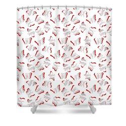 Shower Curtain featuring the photograph Butterflies by Gary Crockett