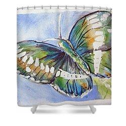 Butterfly 2 Shower Curtain by Loretta Nash