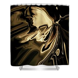 Shower Curtain featuring the digital art Butterfly 2 by Rabi Khan