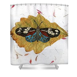 Butterfly #2 Shower Curtain