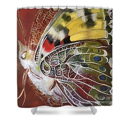 Butterfly Artbox Project 1 Basel Shower Curtain