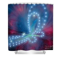 Butterfly Shower Curtain by Corey Ford