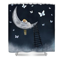 Butterfly Dreams By Sannel Larson Shower Curtain