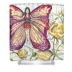 Butterfly Grace Fairy Shower Curtain