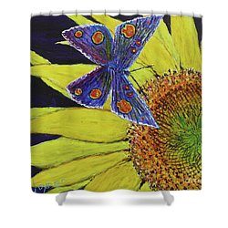 Butterfly Haven Shower Curtain by David Joyner
