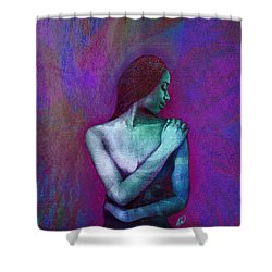 Butterfly Hearats Shower Curtain