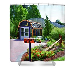 Butterfly House 1 Shower Curtain